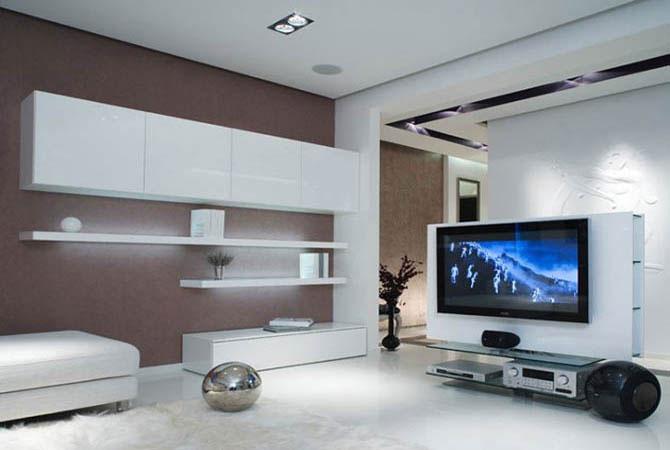 создать интерьер жилой комнаты
