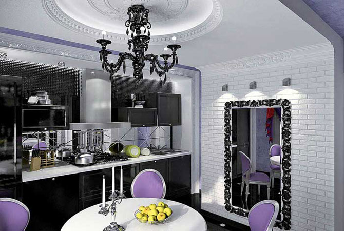 дизайн-проект 3-комнатной квартиры и-155