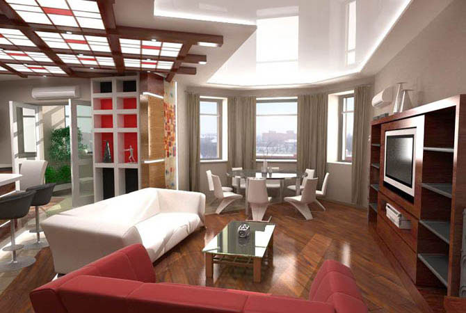 дизайнерские идеи по ремонту квартир
