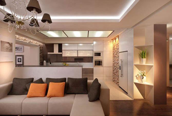 фото интерьера стандартной квартиры