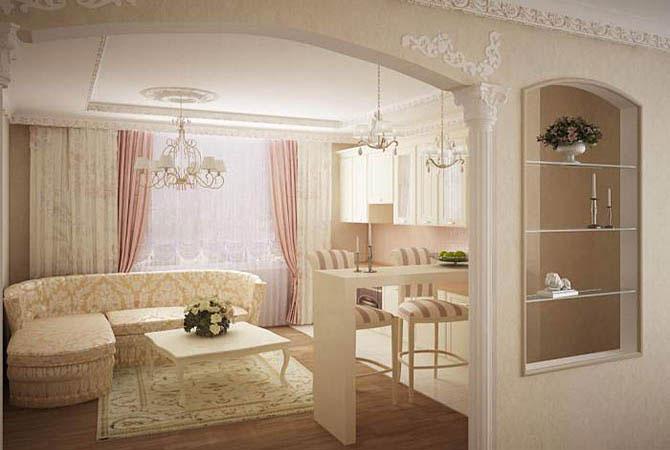 интерьер гостиной дачного дома