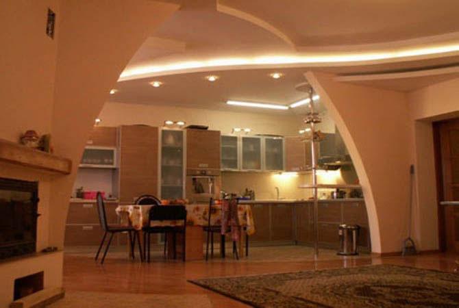 дизайн квартир искусственный камень