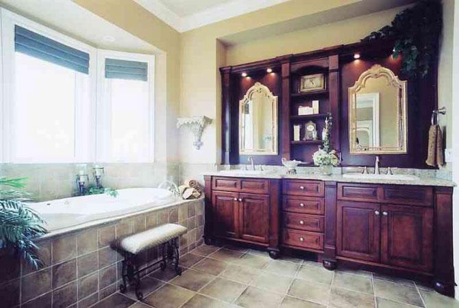 дизайн ванной комнаты с туалетом совместно