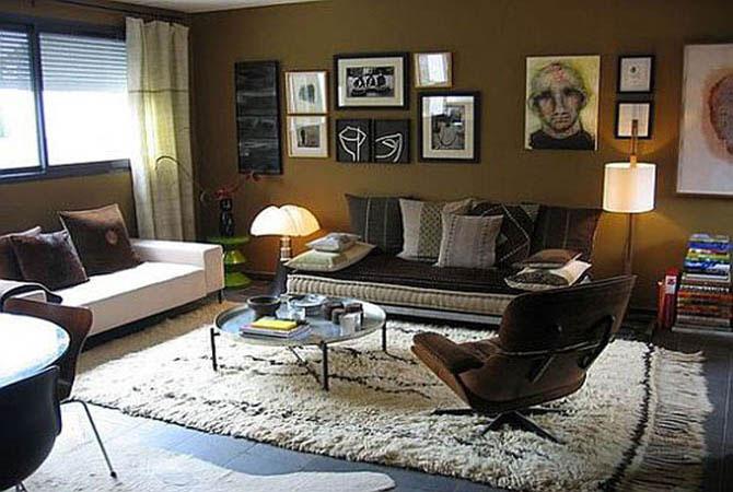 журнал дизайн квартир обои