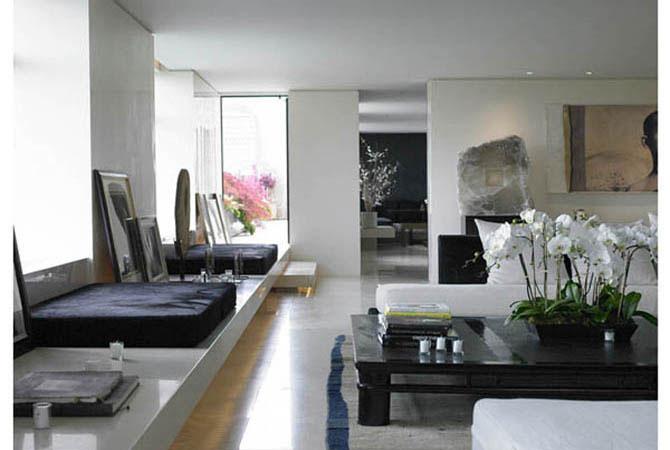 дизайн однокомнатной квартиры интерьер потолков