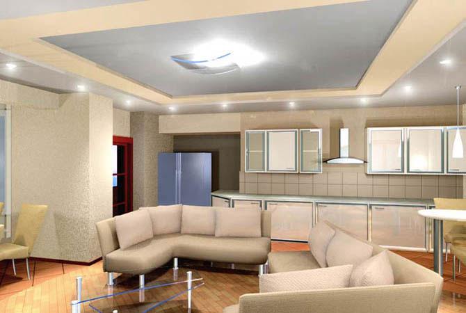 интерьер комнаты для одинокой женщины