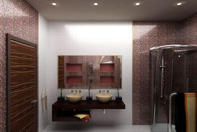 дизайн проект однакомнатной квартиры общей площадью 34м