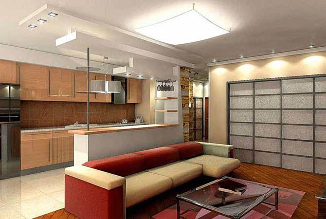 дизайн внутренней отделки квартиры