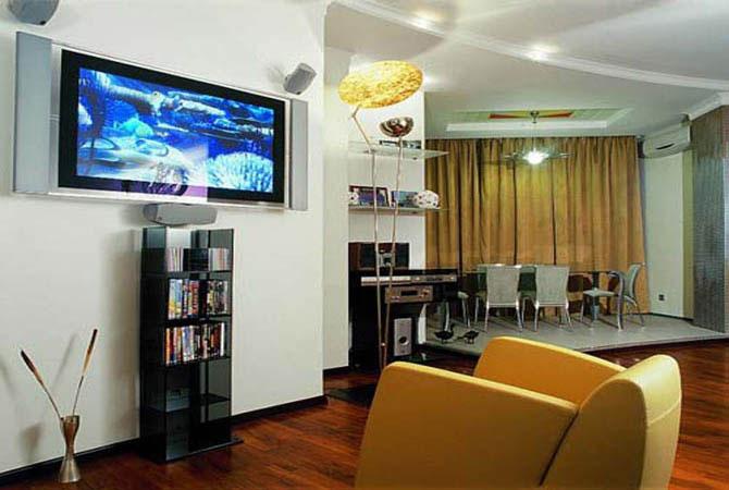 уютный классический дизайн квартиры
