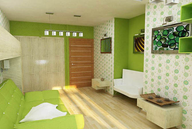 дизайн и обстановка комнаты