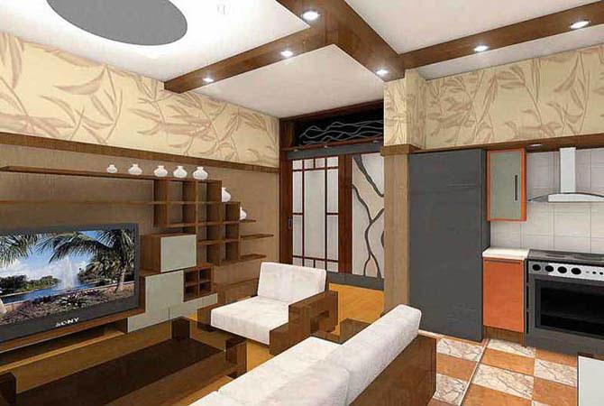 дизайн проект очень маленькой квартиры