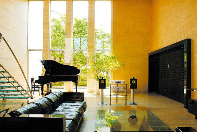 дизайн квартиры навесные потолки
