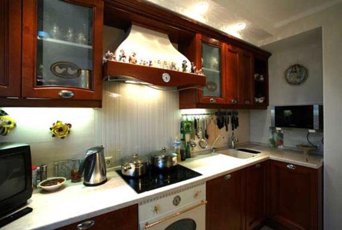 маленькая кухня ремонт квартирный вопрос