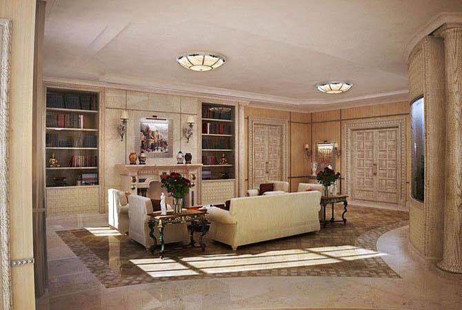 дизайн комнаты с эркером фото