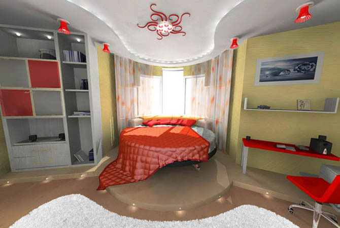поп арт стили дизайна комнаты