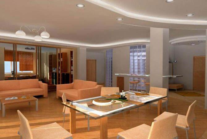 фото внутренняя отделка домов