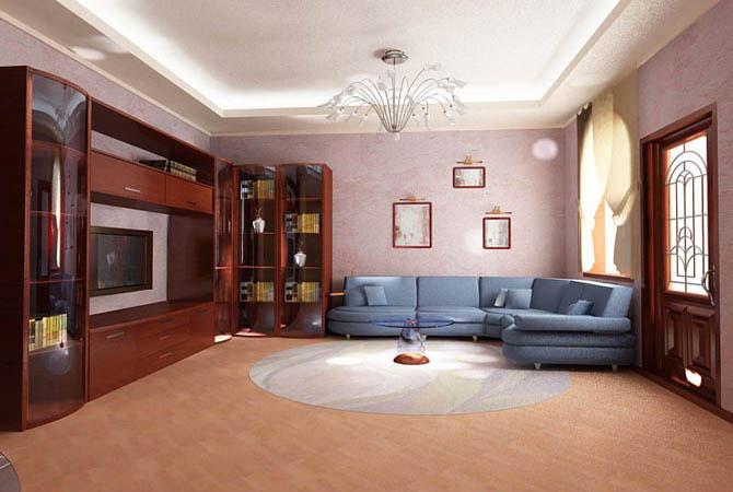 интерьер однокомнатной квартиры фото в японском стиле
