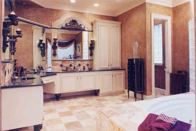 дизайн ванной комнаты в квартире