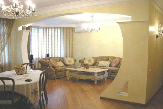 камень в дизайне квартиры