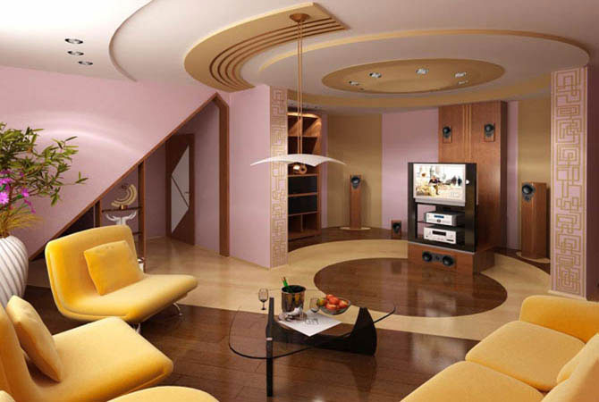 дизайн однокомнатной квартиры вид сверху