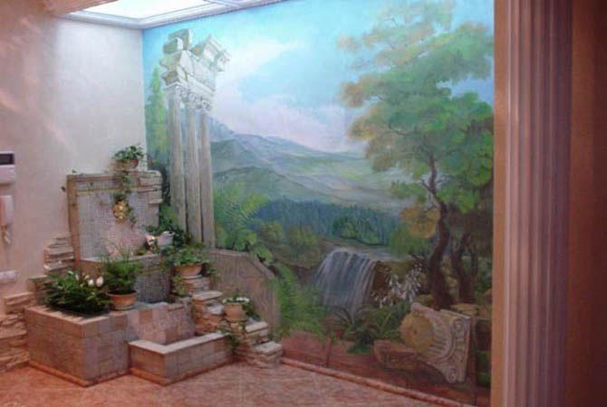 фотографии интерьера квартир окно в стене