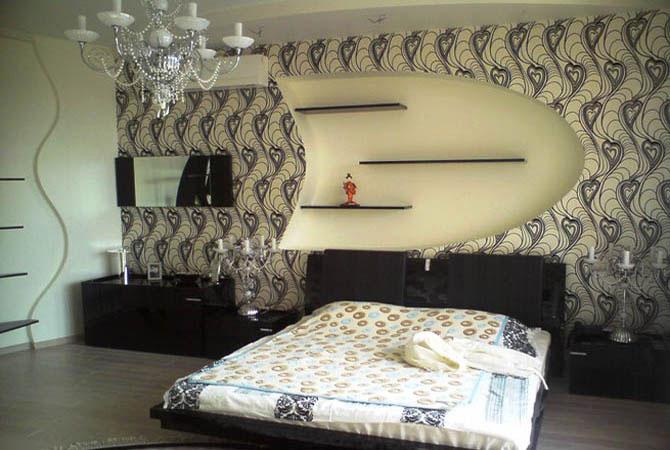 эскиз интерьера гостинной комнате