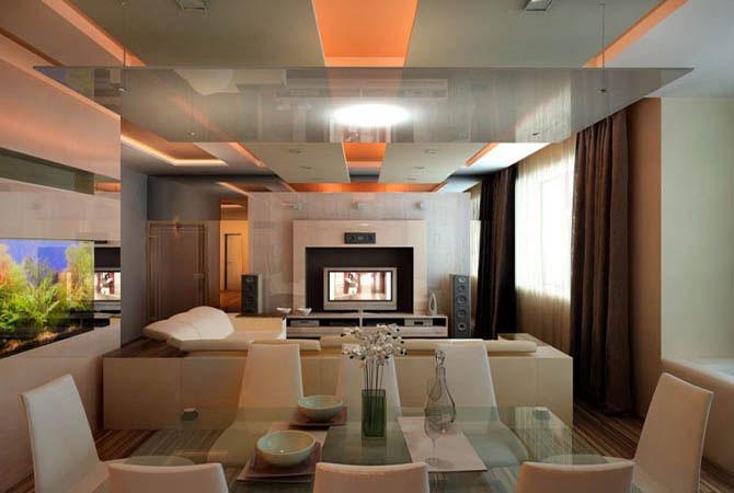 интерьер 3-комнатной квартиры 90м