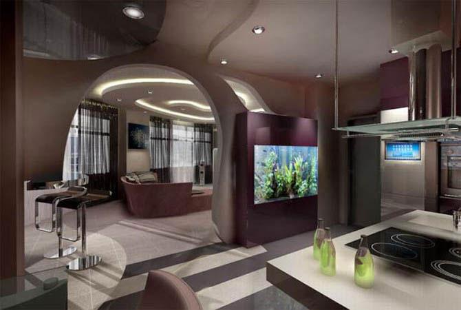 дизайн красивых коридоров в квартире