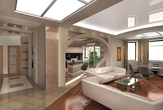 интерьер двухкомнатных квартир с фото
