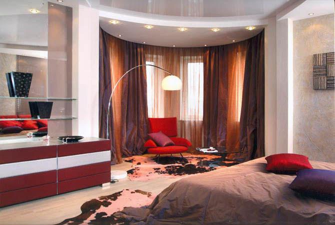 нестандартная комната дизайнерские решения