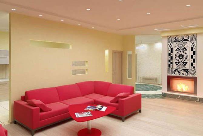 дизайн однокомнатной квартиры улучшенной планировки