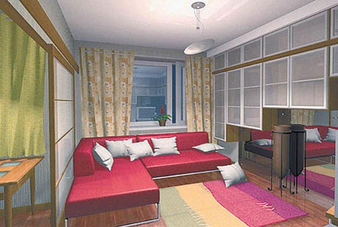 дизайн квартир подиум интерьер