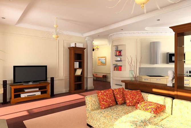стиль и интерьер для маленькой комнаты