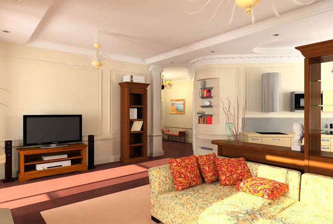 интерьер квартир в современном стиле
