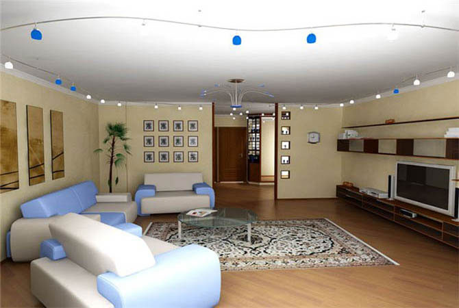 дизайн 3 х комнатных квартир чшк
