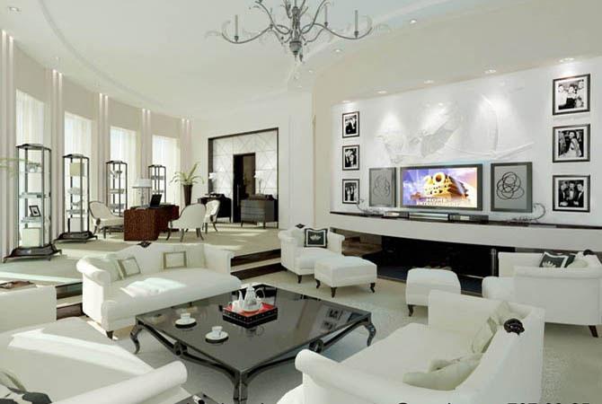 дизайн для трехкомнатной стандартной квартиры