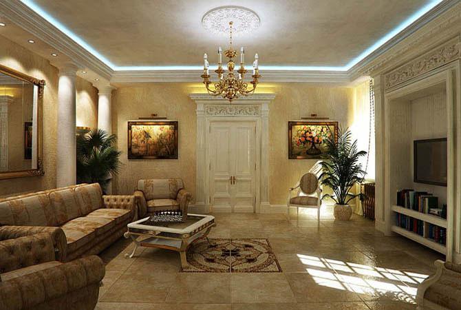 дизайн проект трёх комнатной квартиры уральского проекта