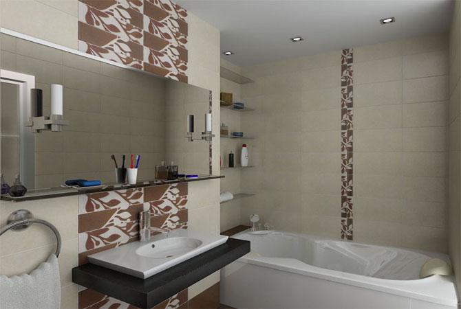 отделка стен ванной комнаты материалы