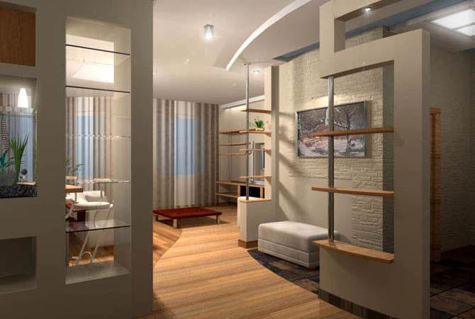 дизайн гостинной комнаты модерн-фото