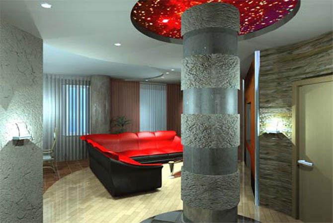 идеи дизайна двух-комнатных квартир домовп-44к