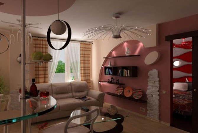 дизайн интерьера небольшая квартира