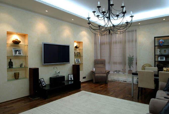 дизайн инерьера малогаборитной квартиры